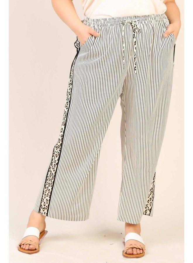 Stripe & Leopard Pants