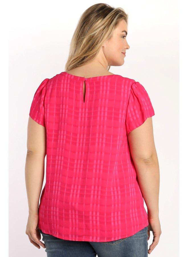 Textured Silk Blouse