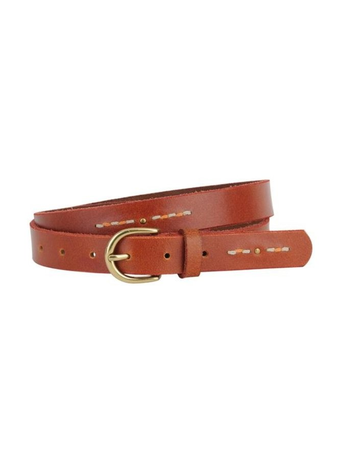 Studded & Stitched Belt