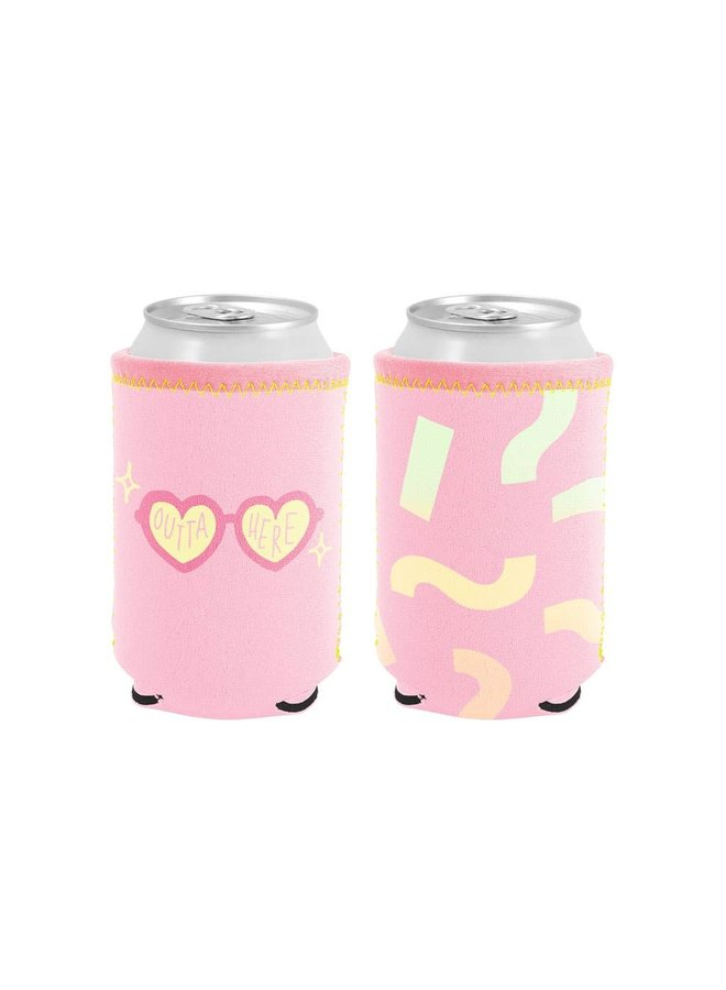 Outta Here Reversible Can Cooler