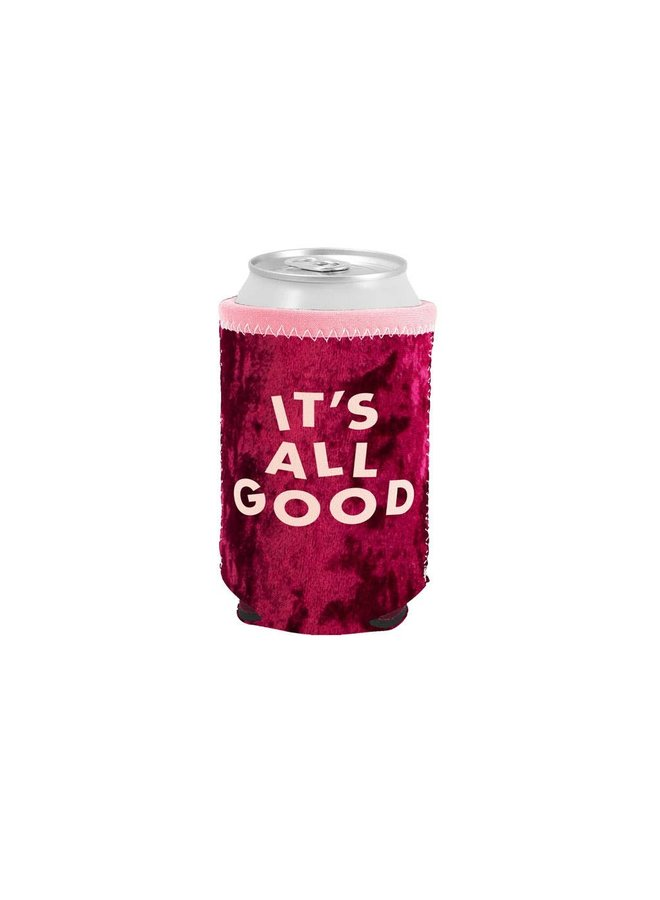 It's All Good Velvet Can Cooler