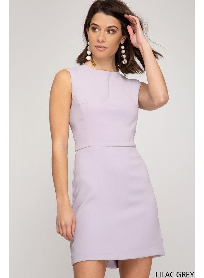 Heavy Knit Mini Dress
