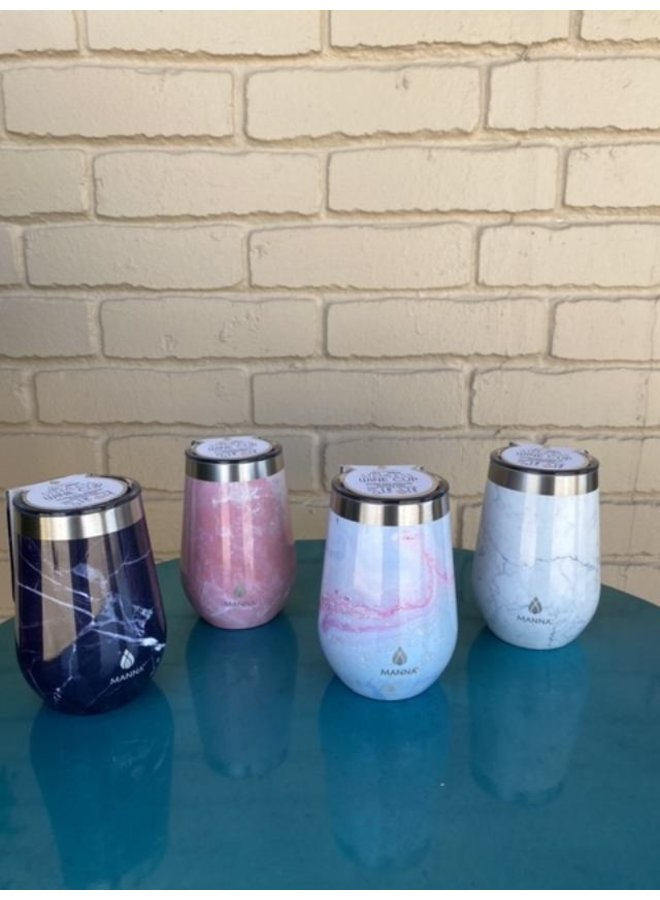 Marble Insulated Tumbler