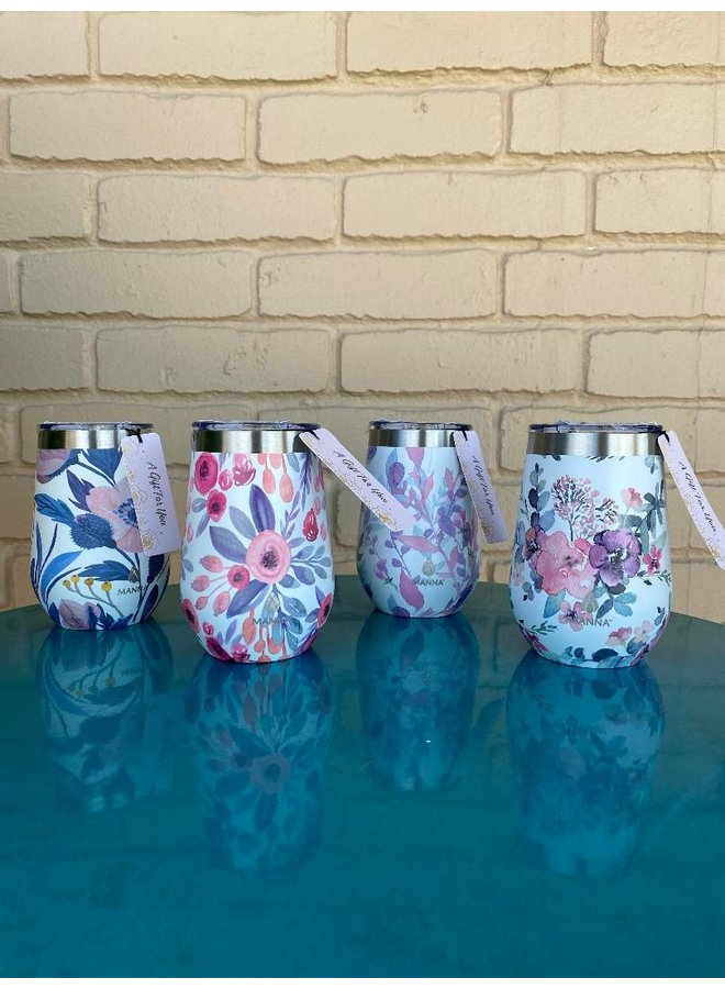 Floral Insulated Tumbler