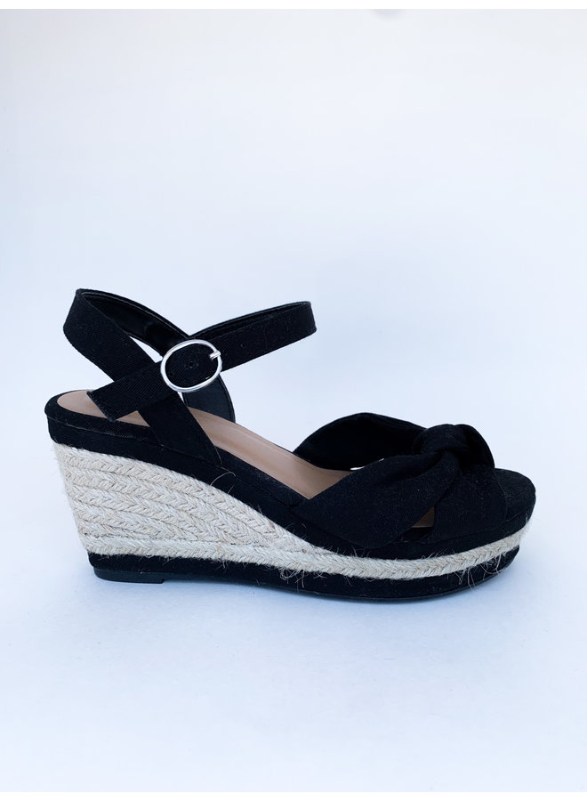 Belle Knotted Wedge