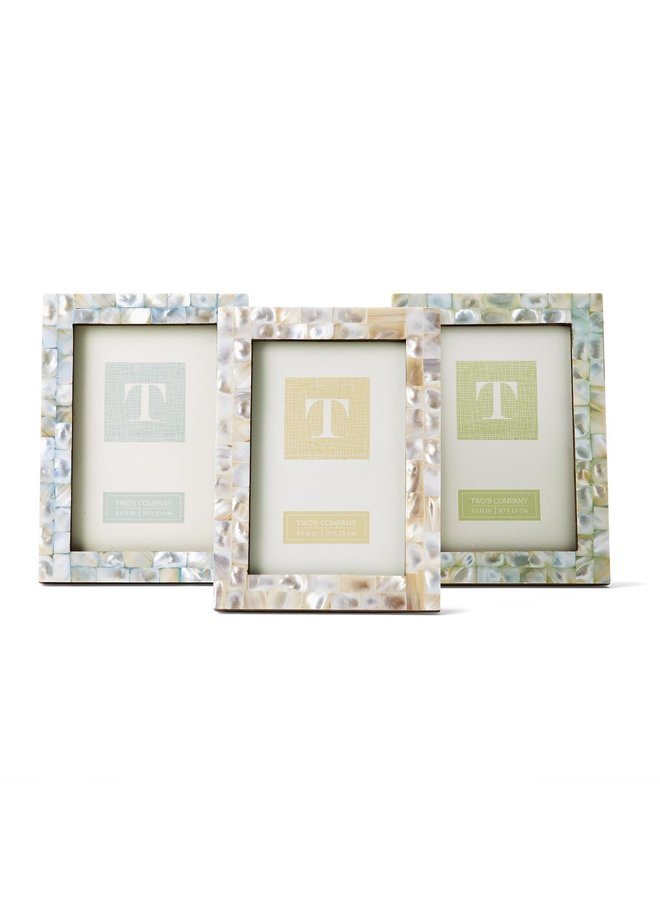 Mother of Pearl Frame, 4x6