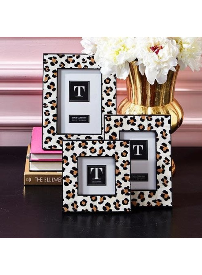 Leopard Picture Frame, 4x4