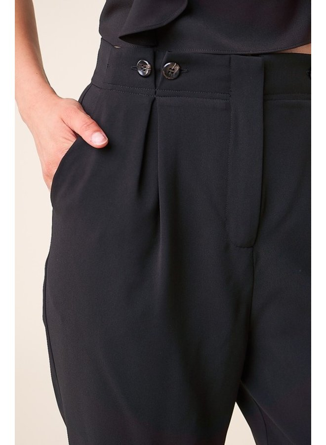 Pleated Trouser Pants