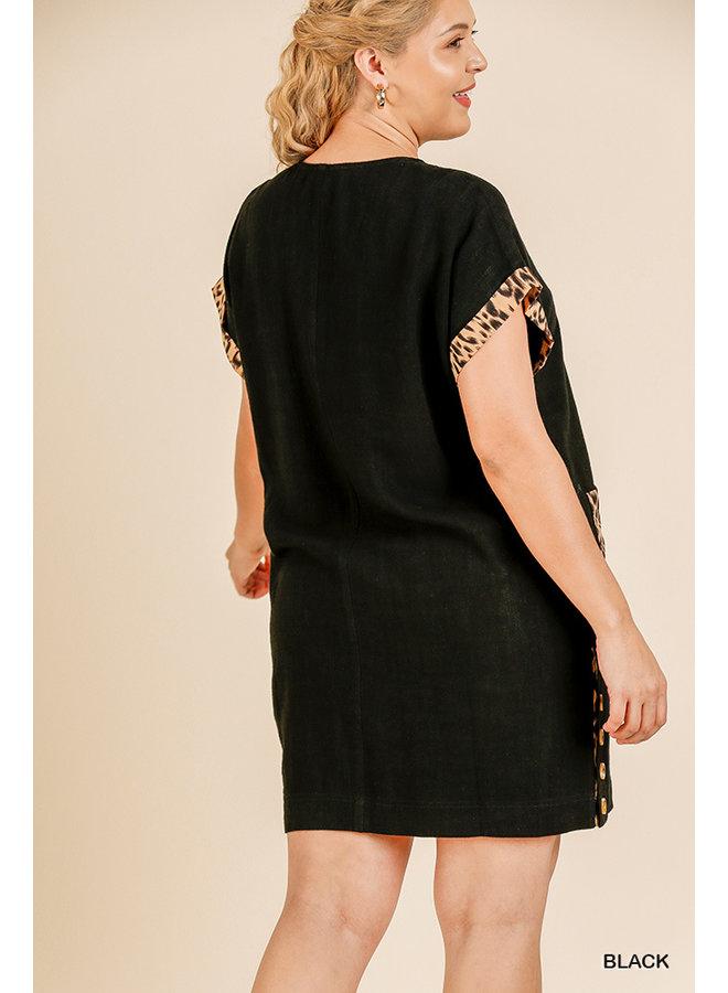Leopard Pocket Dress