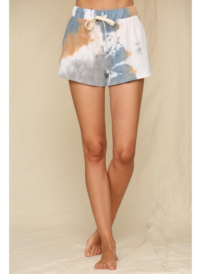 Tie-Dye Terry Shorts