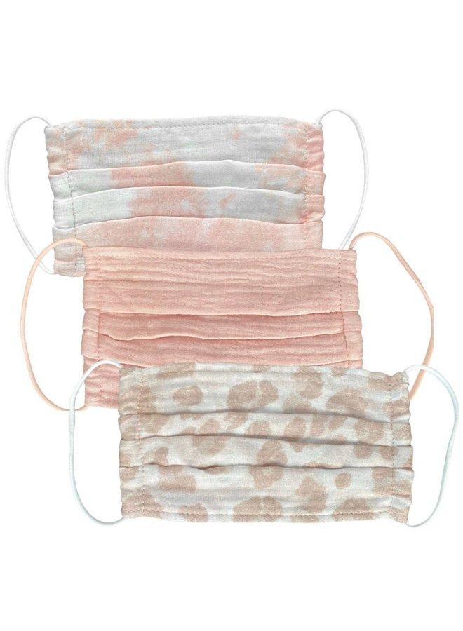 Set of 3 Cotton Masks