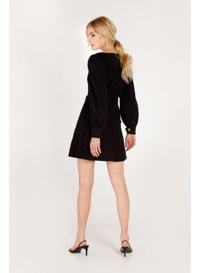 Corduroy Button Down Dress
