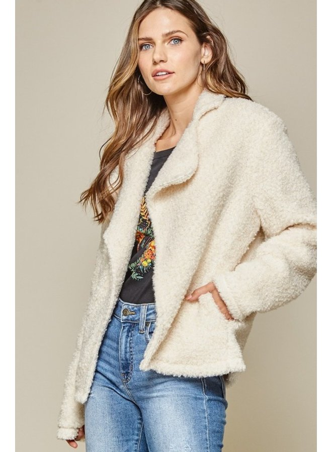 Shiny Sherpa Jacket