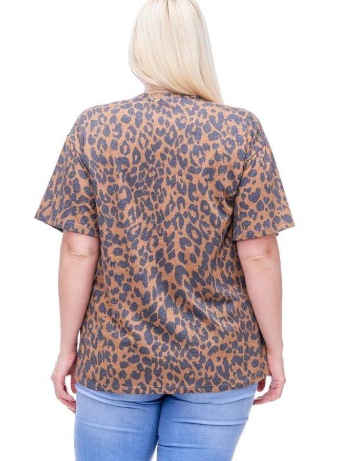 Leopard Blondie Tee