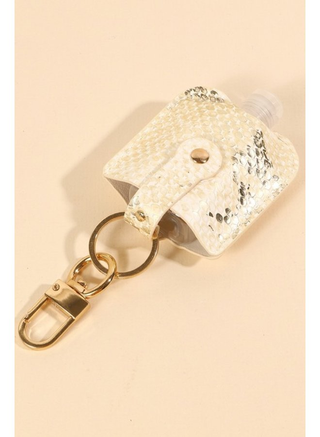 Snake Hand Sanitizer Key Chain