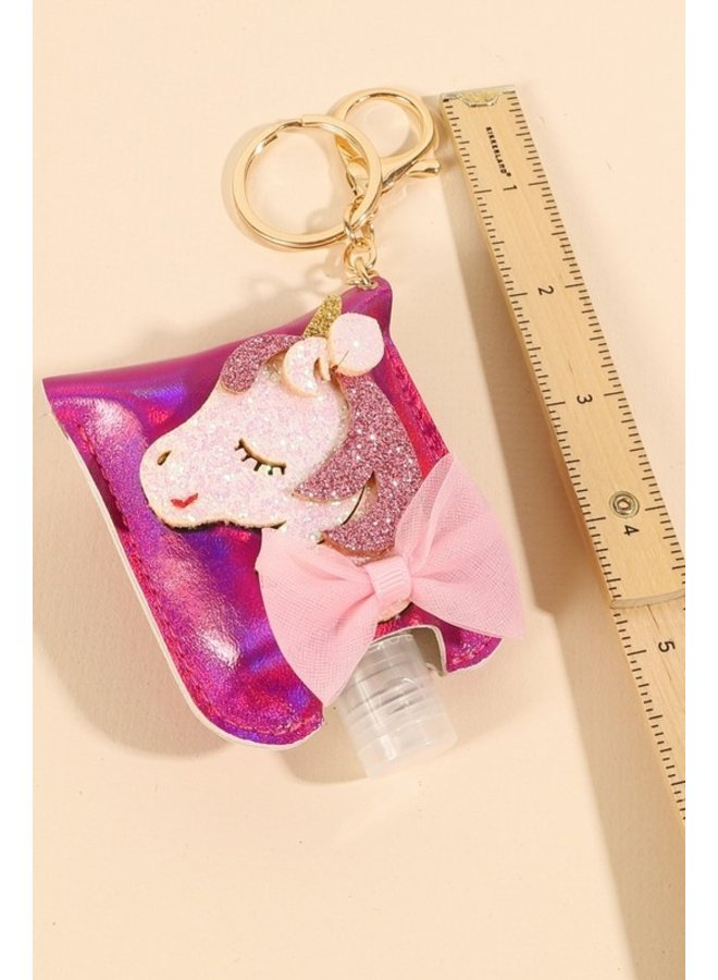 Kids Decorated Hand Sanitizer Key Chain
