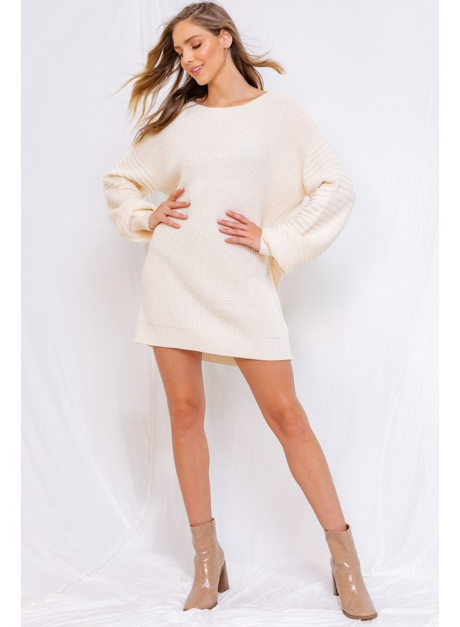 Chunky Knit Sweater Tunic