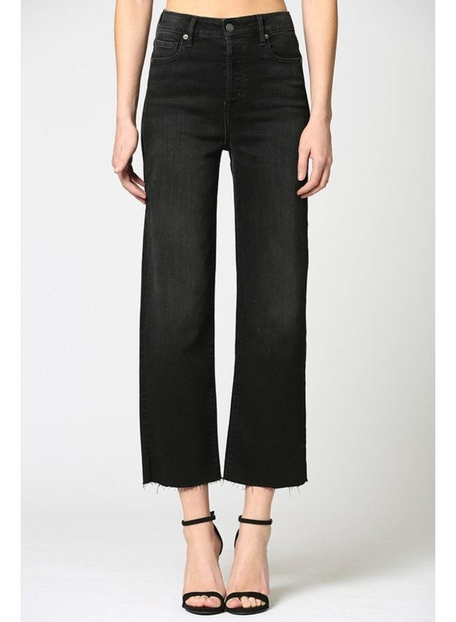 High-Rise Wide Straight Leg Jean