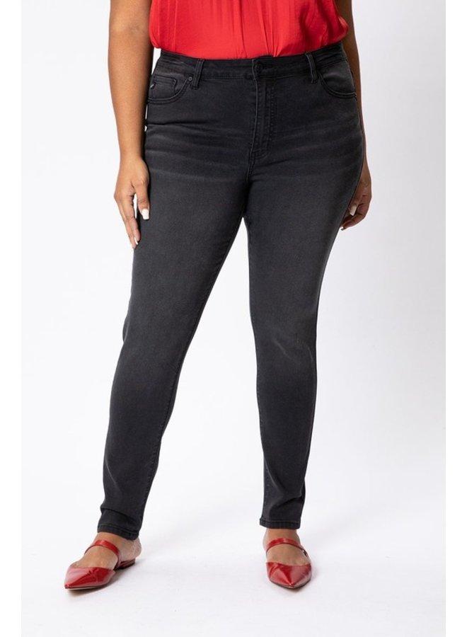 Washed Black Skinny Jean