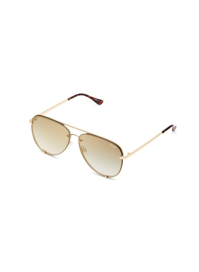 High Key Rimless Sunglasses