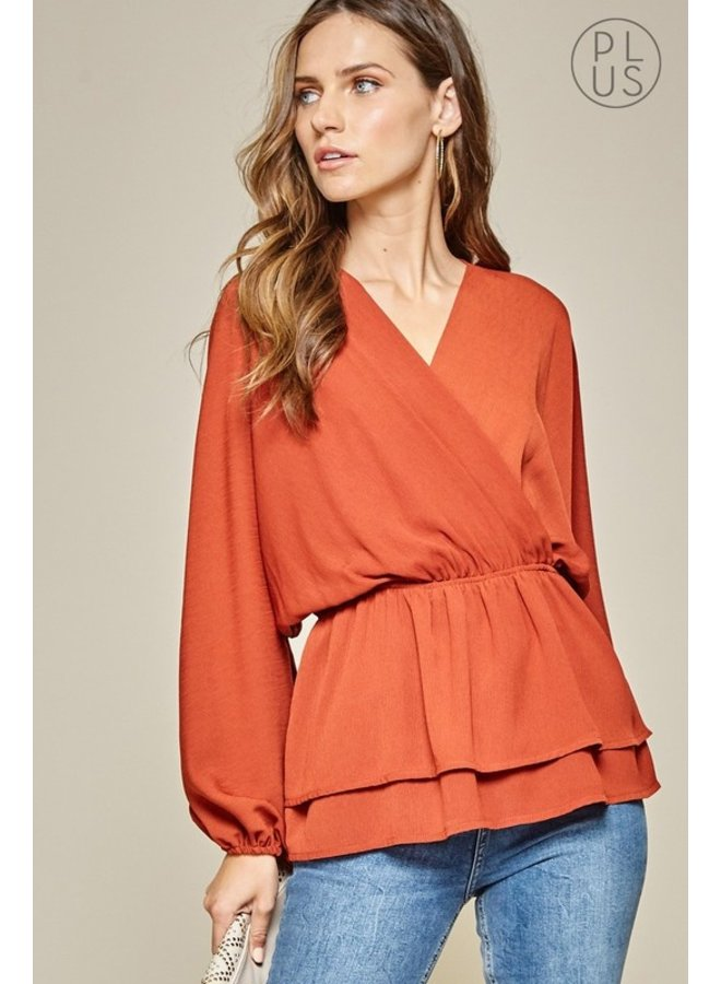 Waist-Cinch Blouse