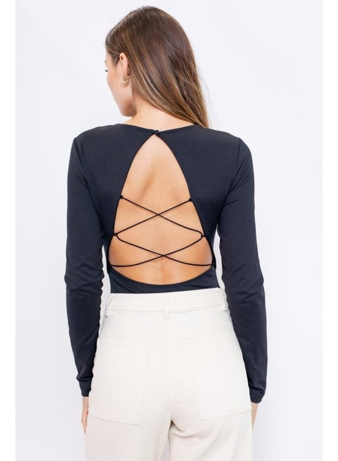 Open Back Bodysuit