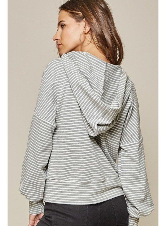 Plaid Pocket Pullover