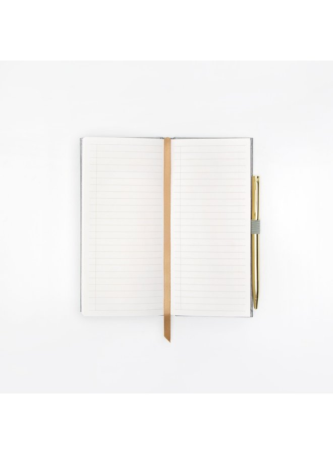 Shimmer Notebook with Pen