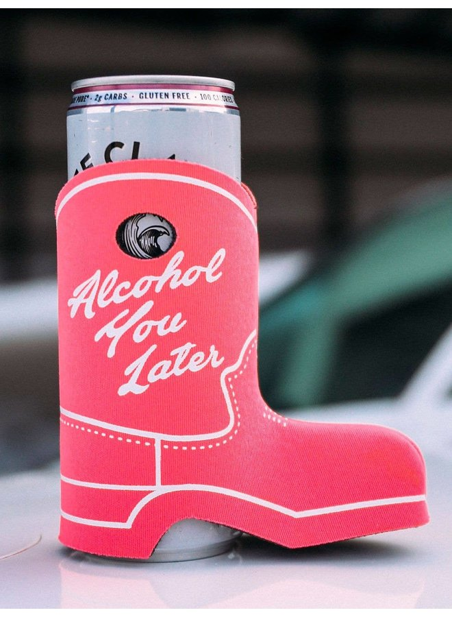 Cowboy Boot Koozie