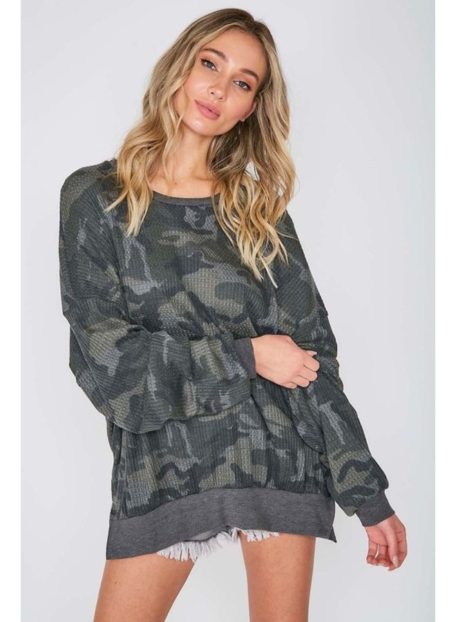 Camo Thermal Top