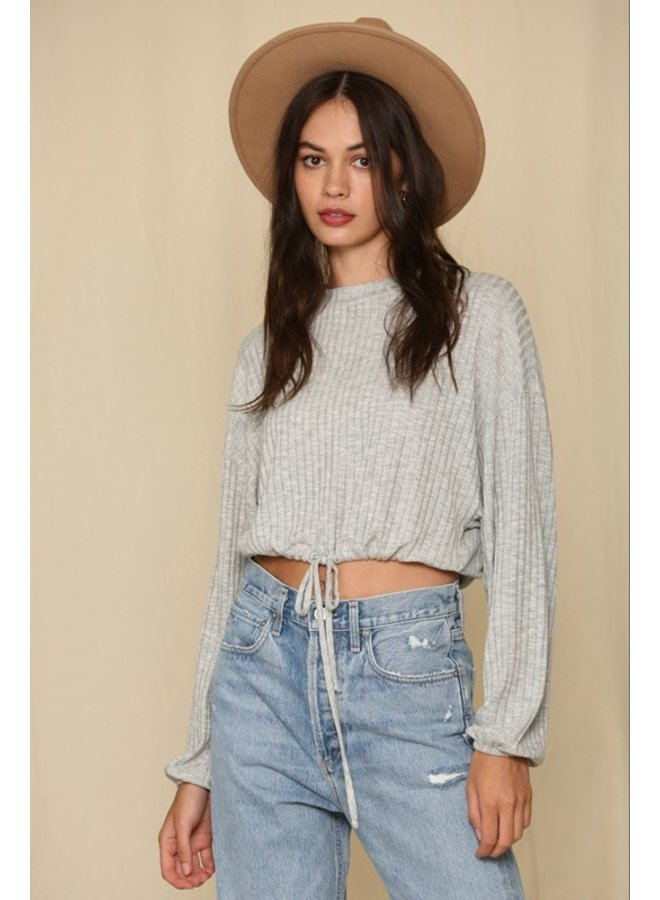 Banded Oversized Top