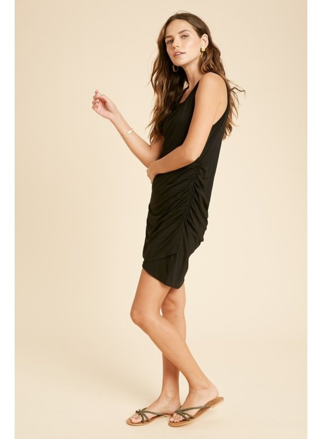Side Ruched Mini Dress