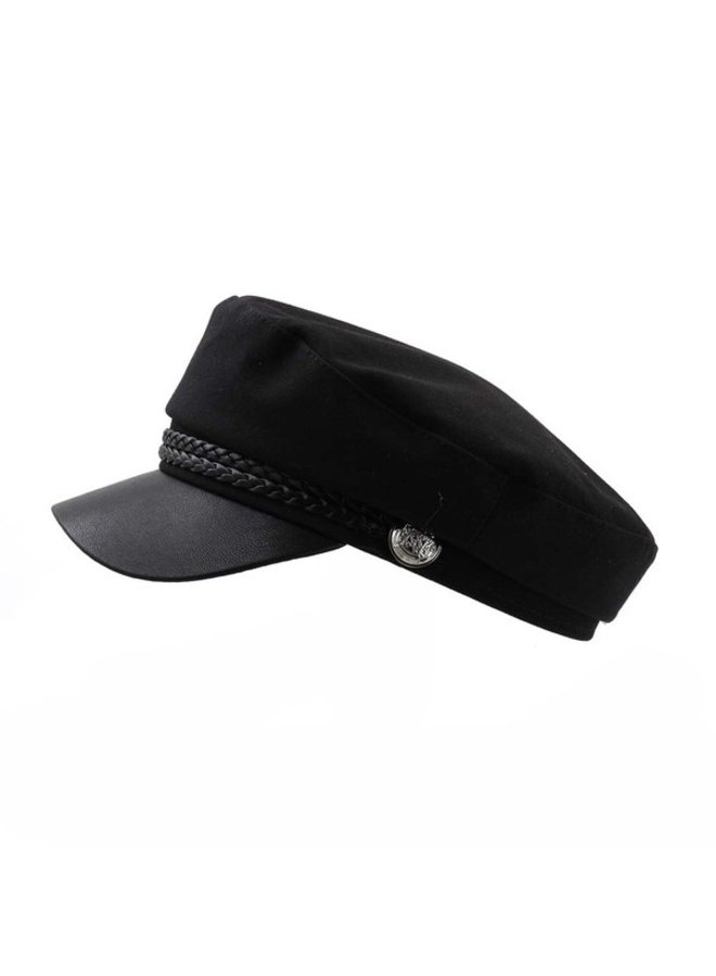 Band Point Military Cap