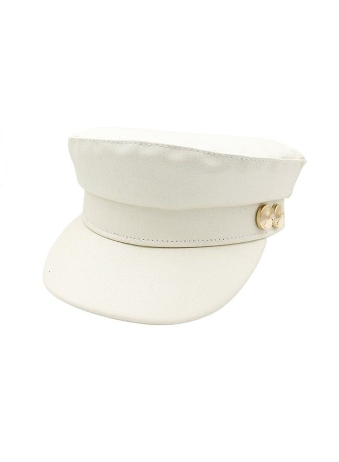 Two Button Military Cap