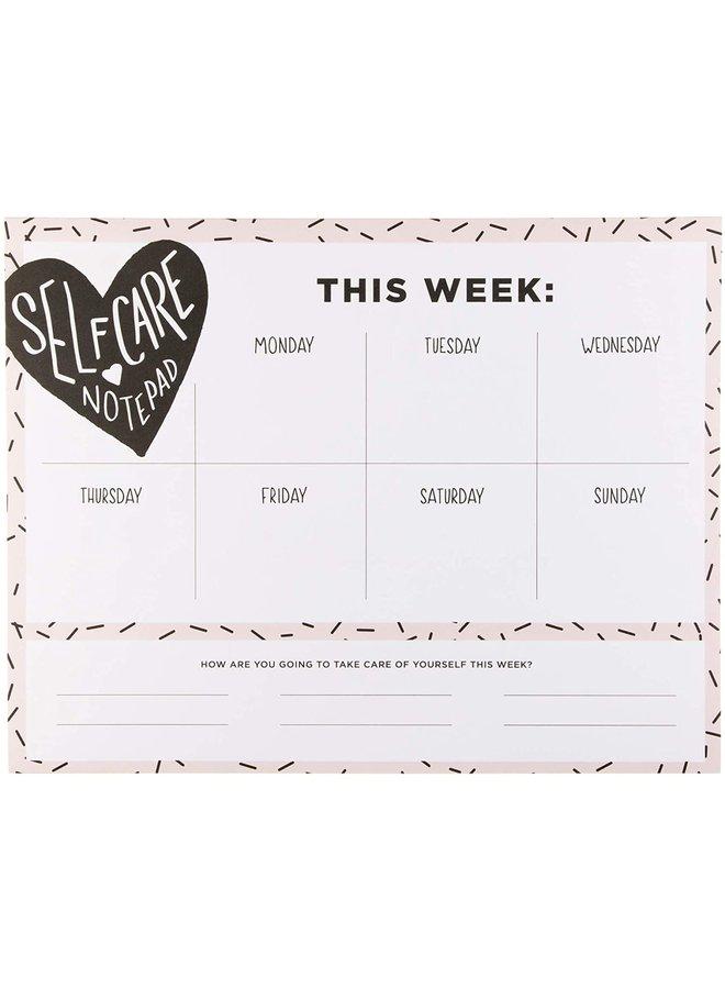 Self-Care Weekly Pad