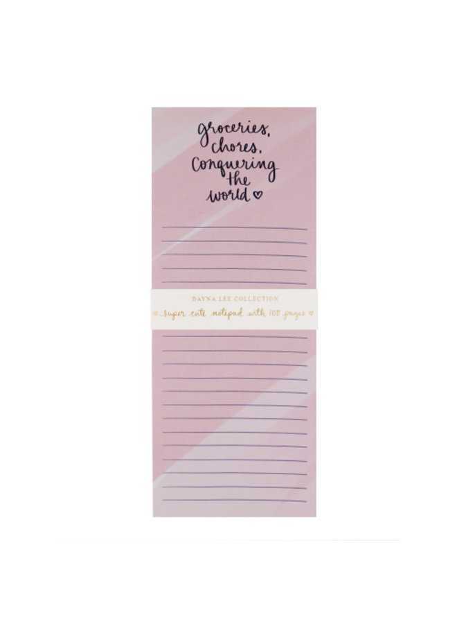 Very Tall Magnetic Notepad