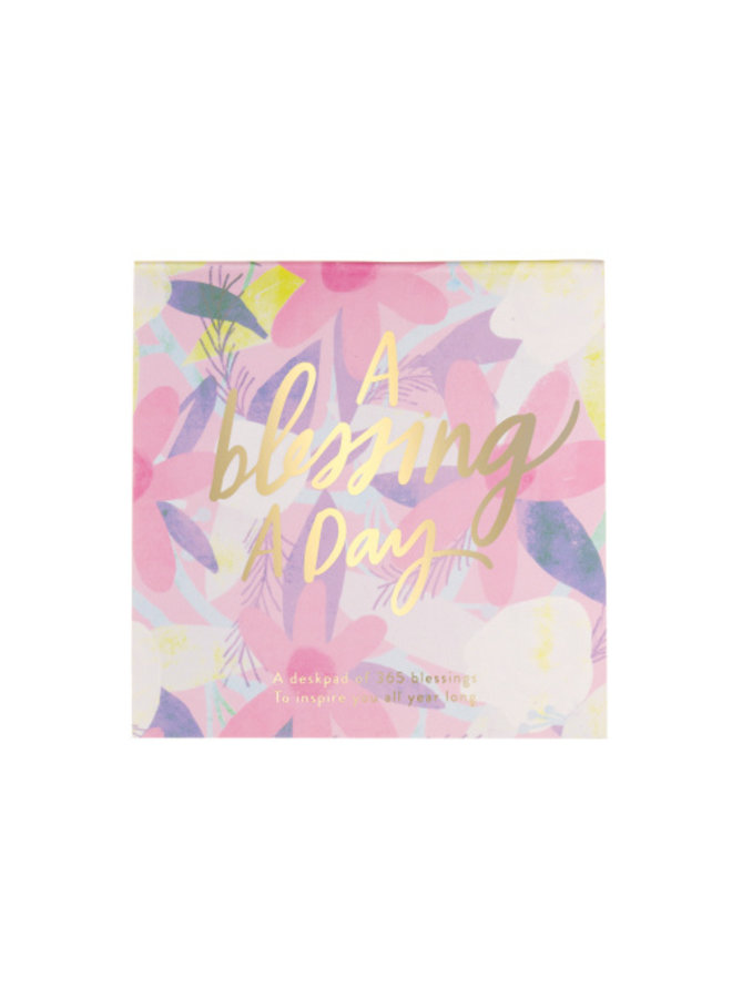 Blessing a Day Deskpad