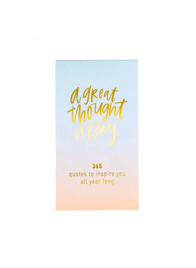 365 Inspirational Quote Note Pad