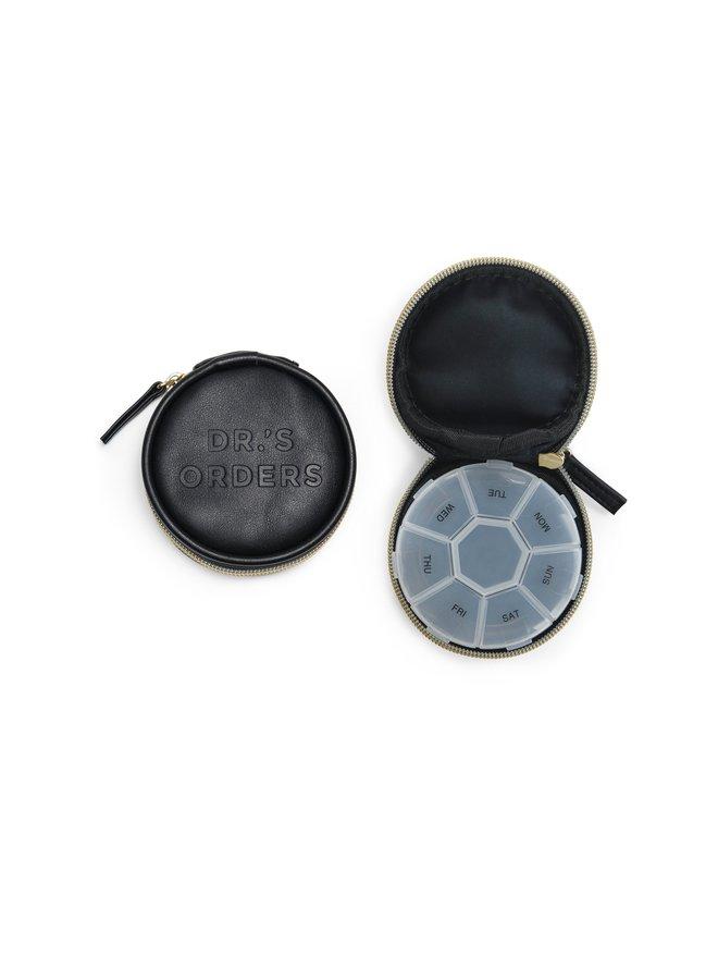 Vegan Leather Pill Box