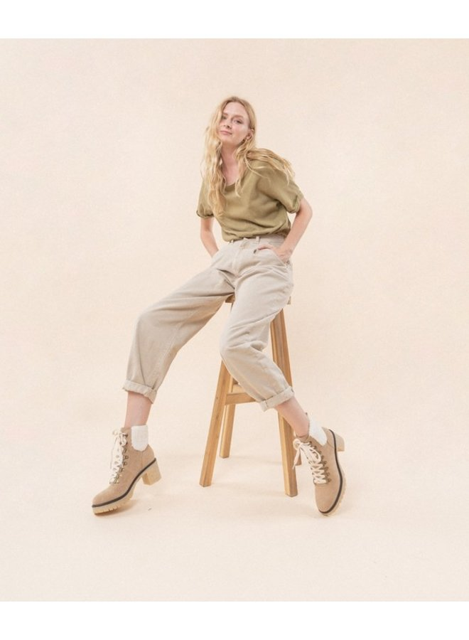 Monroe Heeled Chelsea Boot