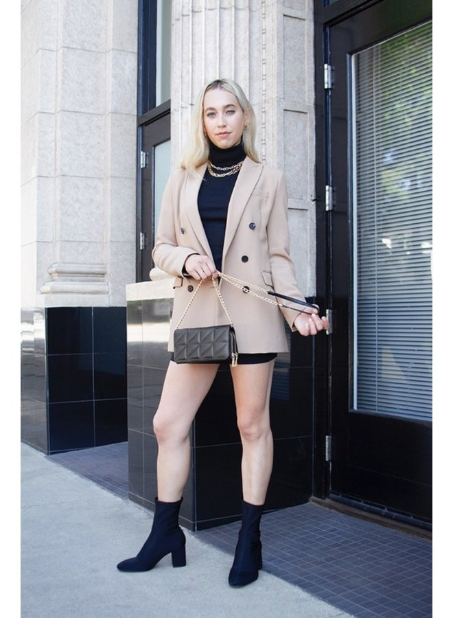 Brianna Vegan Leather Crossbody