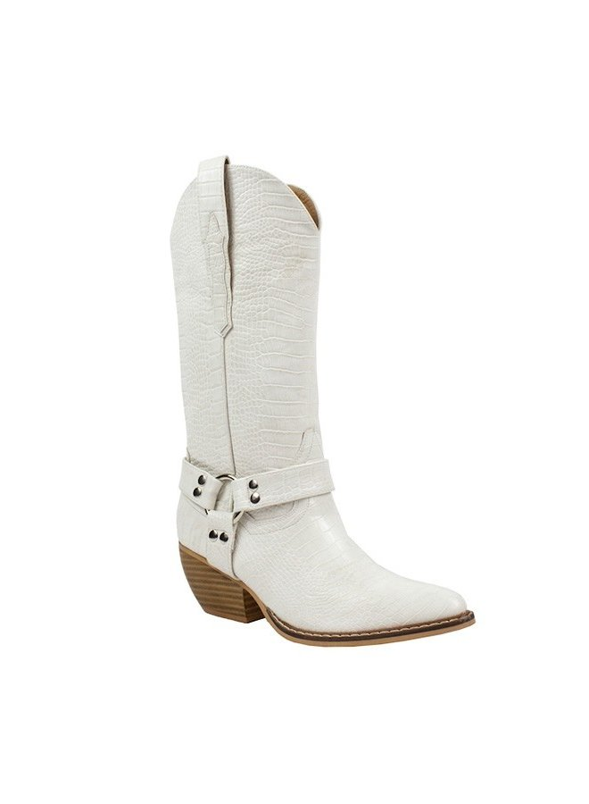 Western Style Tall Boots