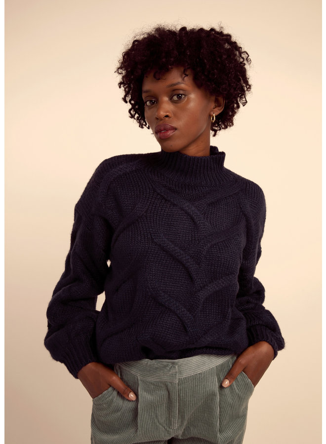 Heavy Cable Sweater