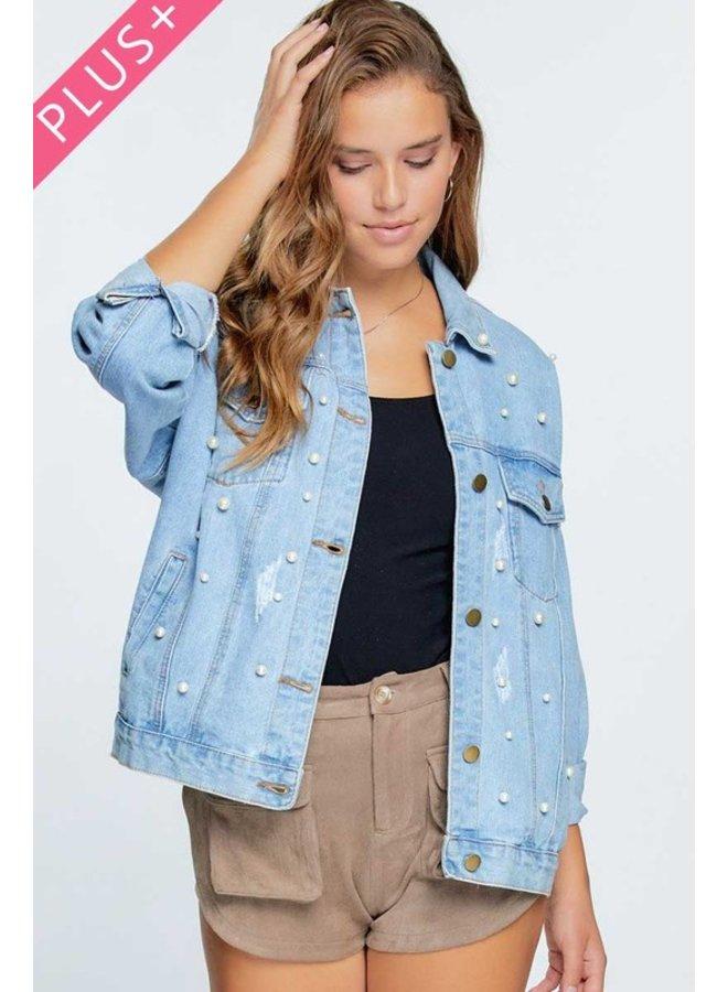 Pearl Embellished Jacket