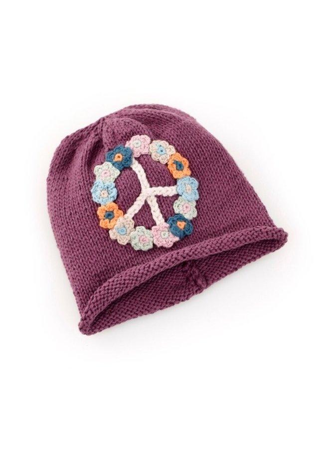 Purple Peace Hat