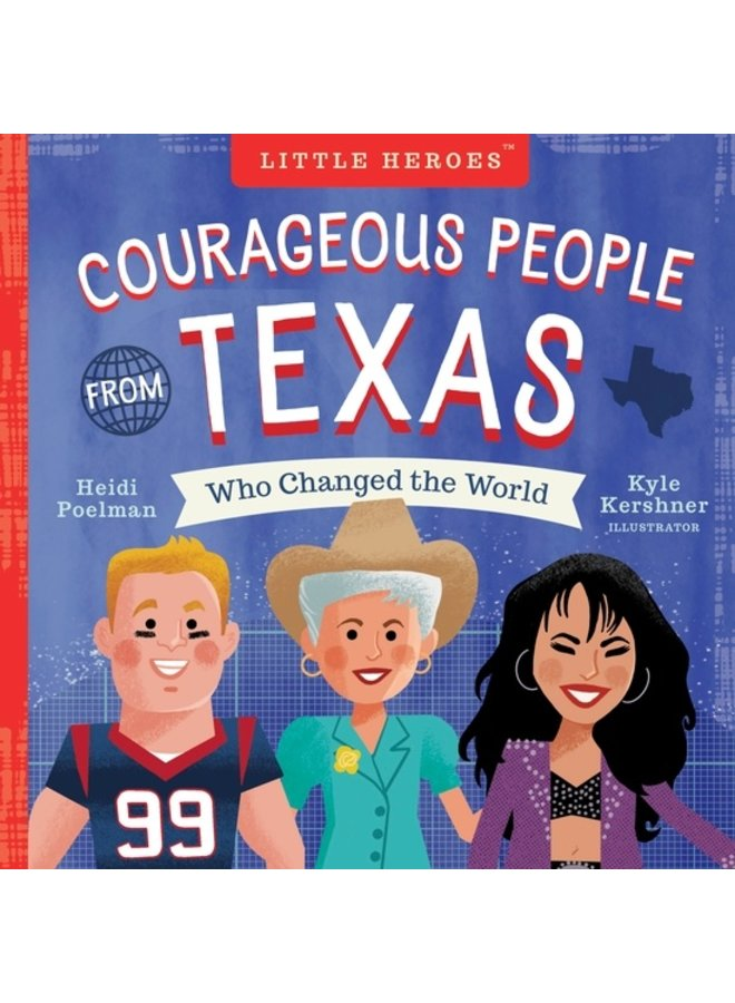 Courageous People of Texas Book