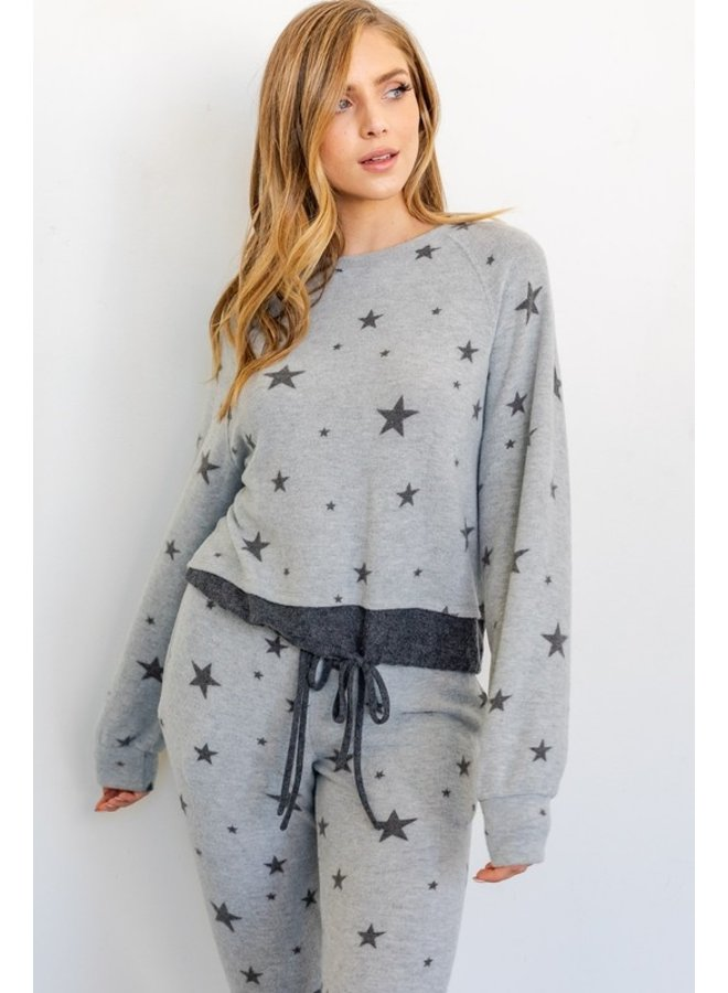 Star Cinched Top