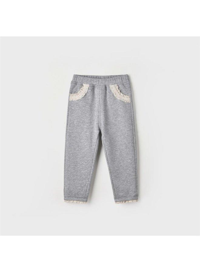 Lace Trimmed Pants
