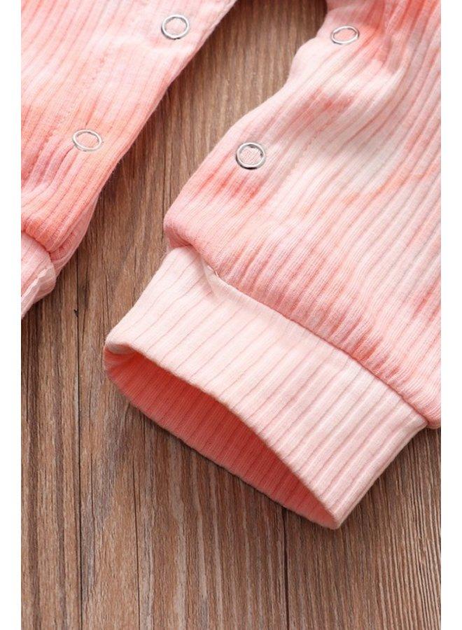 Pink Tie Dye Romper