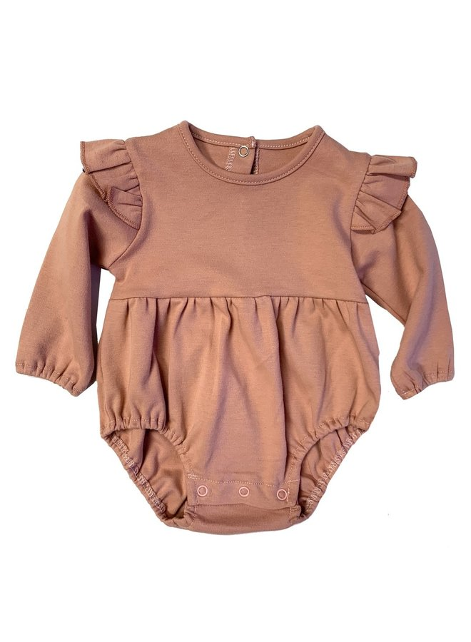 Long Sleeve Flutter Onesie